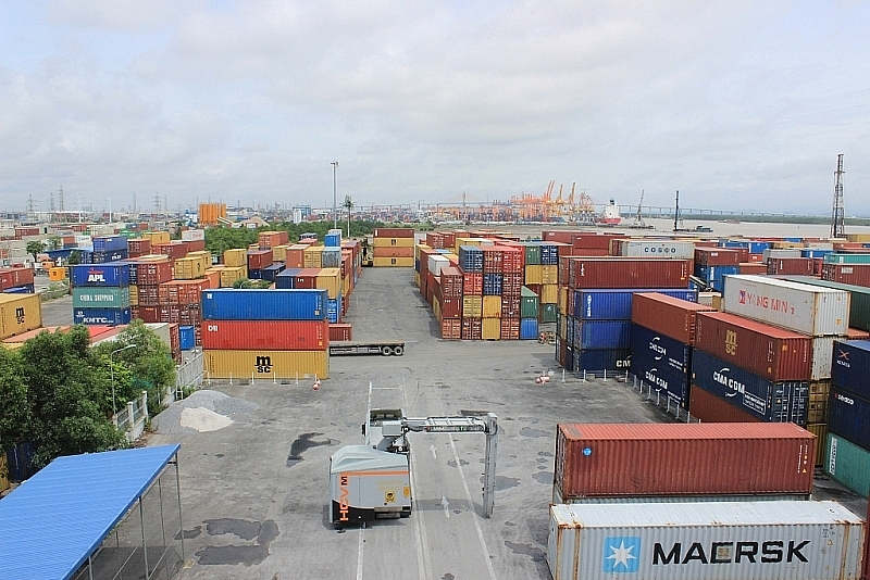promulgate process of selecting and inspecting goods via container scanning machines