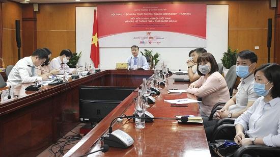 Kết nối ổn định hàng nông, thủy sản Việt vào hệ thống của các ông lớn ngành bán lẻ nước ngoài - Ảnh 1.
